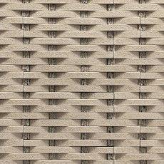 Decorstone Ratan béžový  je dizajnový obklad pre modernú architektúru a rovnako ako všetky naše výrobky je určený pre exteriér aj interiér. Tento vzor je prvý typ obkladu z nášho sortimentu, ktorý imituje vzhľad iného prvku ako prírodného kameňa. Otvára tak nové možnosti v dizajne stavieb a architektúre.