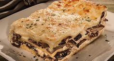 Wild Mushroom Lasagna Recipe   Cello Cheese