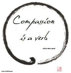 Compassion or Love in Action or Acts of Loving Kindness or One Good Deed--all are believed in by Buddhists and Taoists.    www.10KBlessingsFengShui.com