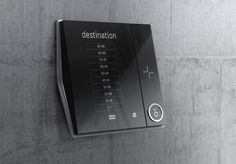 This product is one of the home network system products. As a soft modern concept, it sensuously expresses the formative identify of the product by means of sensible edges and the rough surface and high glossy edge. Smart Panel, Elevator Design, Electric House, Id Design, Design Language, Signage Design, Interface Design, User Interface, Digital Signage
