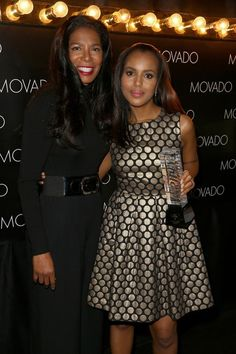 """Kerry Washington & Judy Smith who her """"Scandal"""" character Olivia Pope is based on"""