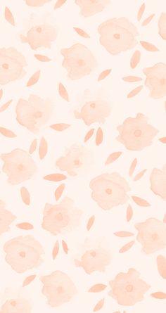 Lauren conrad flowers watercolour iPhone wallpaper