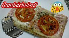 🍕😱 Pizza de sanduicheira?? 🍕😱