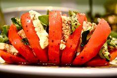 Hell if I Gnaw: Vegan Caprese Salad