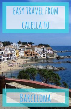 travel calella to barcelona