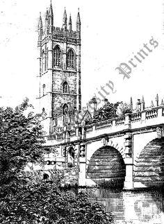 Magdalen College (Tower & Bridge)