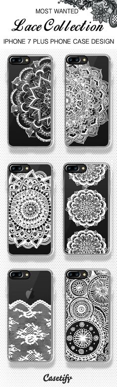 Most wanted iPhone 7 case and iPhone 7 Plus case lace collection, shop them all here >> https://www.casetify.com/artworks/qXqCIUgo1w