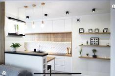 Bar Counter, Scandinavian Home, Kitchen Interior, Kitchen Cabinets, Architecture, Table, Furniture, Design, Home Decor