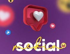 Social Media Icons, Social Media Design, Ad Design, Low Poly, Advertising Design, Graphic Design Inspiration, Adobe Illustrator, Digital Marketing, Zodiac