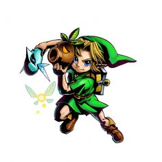 Tons of Majora's Mask 3D Screenshots and Official Art