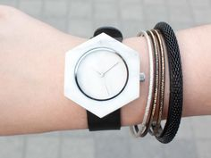 Nice marble watch