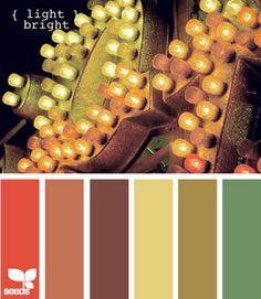 {light bright} color pallette