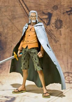 Figura One Piece. Silvers Rayleigh, colección S.H. Figuarts Figura de 15cm de Silvers Rayleigh, uno de los personajes del manga-anime One Piece.