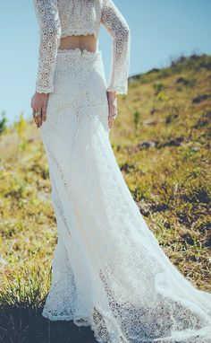 28 Reasons You Were Meant to Be a Boho Bride: If you're a bride who's always dreamed of walking barefoot on the beach instead of walking down the aisle, your wedding dress should reflect your free-spirited side.