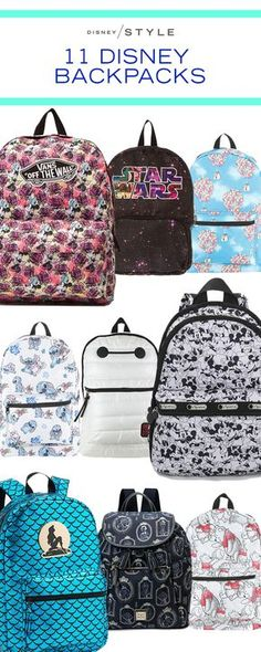 f3b56a94b3d 11 Disney backpacks that are perfect to wear to Disney Parks, school, work  or as a fashion accessory. (I kind of wish I had the Haunted Mansion  backpack!