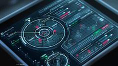 Sci-Fi UI Practice  by Evgeny Rodygin