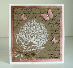 Rustique card