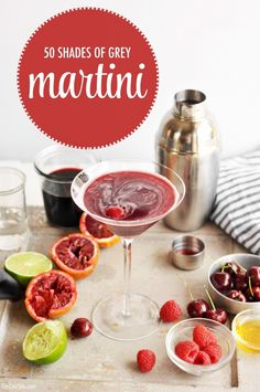 50 Shades of Grey Vodka Martini