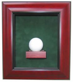 One Golf Ball Display Case