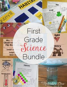 Do you struggle to fit science in to your day? This first grade science bundle makes it simple to integrate into reading, writing, close reading, and shared reading! Plus there are fun hands-on activities for students that are sure to keep them engaged! My students were always GLUED!!