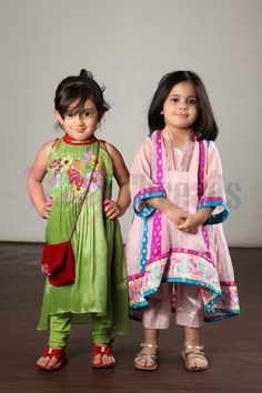 Latest Tiny Threads Eid Dresses Collection 2015 For Children