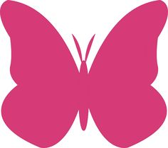 40 Awesome pink butterfly graphics