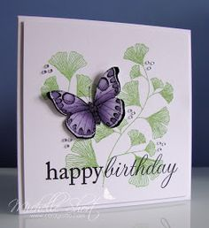 The Card Grotto: Harvest Berries Butterfly