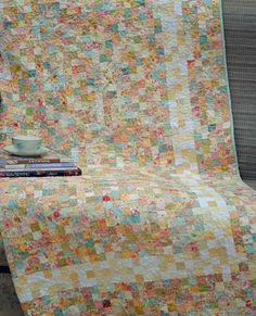 Charming Chatter - scrap quilt