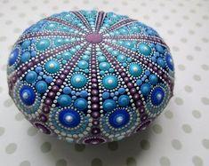 Mandala Stone Jewel Design 9cm