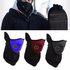 Balaclavas CS Hat Headgear Winter Skiing Ear Face Mask Windproof For Motorcycle #Unbranded