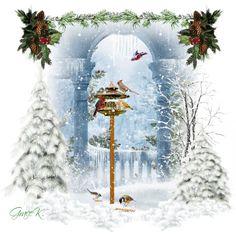 """""""Winter Birdies"""" by gracekathryn on Polyvore"""