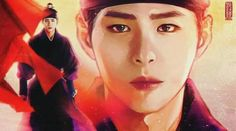 Fanart #Parkbogum and #Kimyoojung in #Moonlight drawn by clouds