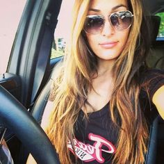Nikki bella hair