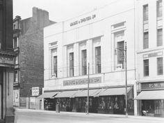 Marks & Sparks new building Sauchiehall Street- formerly Cranston's Waverly Temperance Hotel