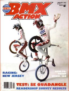 Buff and R.L. - BMX Action / January '83