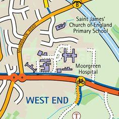 Eastleigh Cycle Maps
