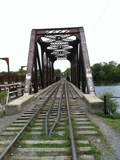 my hometown Peterborough Ontario, Canada Eh, City Wallpaper, Across The Universe, G Adventures, Beautiful Places In The World, Train Tracks, Canada Travel, Beautiful Landscapes