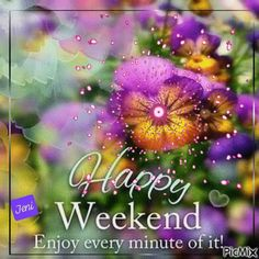 See the PicMix Happy weekend belonging to Wolfjen on PicMix. Happy Weekend Images, Happy Weekend Quotes, Bon Weekend, Weekday Quotes, Friendship Quotes, Aesthetic Wallpapers, Creations, Greeting Cards, Thankful