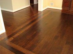 Modern Matching Old Hardwood Floors Intended For Home Design Floor Engineered Hardwood Flooring, Parquet Flooring, Hardwood Floors, Flooring Ideas, Wood Floor Design, Hearth And Home, Home Upgrades, Wood Doors, Plano Texas