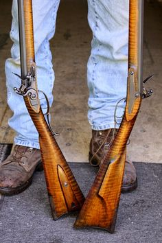 Contemporary Makers: Twin Rifles by Ian Pratt