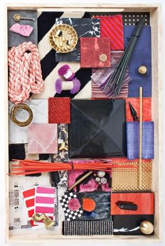 Love Kelly Wearstler for her inspiring material compositions & amazing interiors!