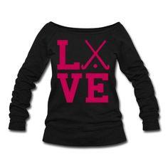 love field hockey Sweatshirt | Spreadshirt | ID: 6942757