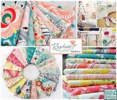 Hawthorne Threads has Pat Bravo's Rapture line from Art Gallery Fabrics