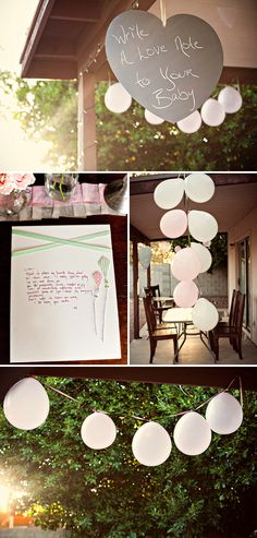 """a party for mommies and new babies...probably the cutest little """"no reason"""" party EVER"""