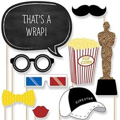 Movie - A Film in the Making - Graduation Party Photo Booth Props Kit - 20 Count Big Dot of Happiness http://www.amazon.com/dp/B00VKSRFBS/ref=cm_sw_r_pi_dp_VGvTwb0Z8EWGR