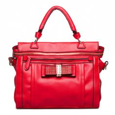 Every girl needs that one Red bag to complete their look...this just might be that bag