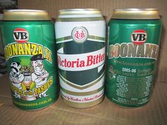 3 OLD VB beer cans..Now very Collectible!!!