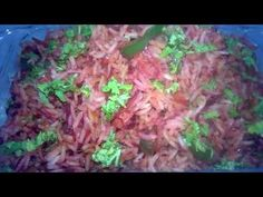 Relish this colourful Beetroot Schezwan Rice. Here is its ingredients and method: Ingredients: Basmati Rice (boiled) - 2 cups Carrots (in Ju. Ramzan Special Recipes, Coriander Leaves, Non Stick Pan, Beetroot, Stir Fry, Fried Rice, Carrots, Cabbage, Stuffed Peppers