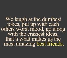 Crazy Friend Quotes, Best Friend Quotes Funny, Best Friends Funny, Crazy Quotes, Funny Quotes, Best Friend Poems, Best Friend Things, Crazy Best Friend Quotes, Best Friend Quotes Instagram