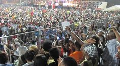 Crowds of more than 50,000 people attended both services in Equatorial Guinea. During one service Pastor Benny had a special word for a women suffering from paralyses after a stroke. God healed her instantly.